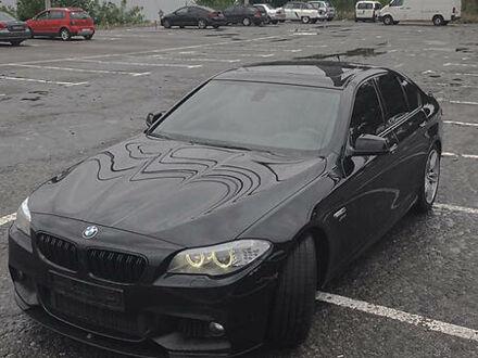Черный БМВ 550, объемом двигателя 4.4 л и пробегом 159 тыс. км за 29900 $, фото 1 на Automoto.ua