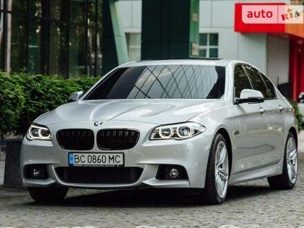 Серый БМВ 550, объемом двигателя 4.4 л и пробегом 65 тыс. км за 39500 $, фото 1 на Automoto.ua