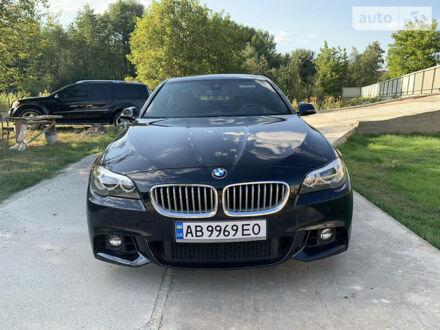 Синий БМВ 550, объемом двигателя 4.4 л и пробегом 67 тыс. км за 33500 $, фото 1 на Automoto.ua