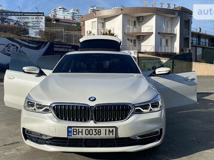 Белый БМВ 6 Серия ГТ, объемом двигателя 2 л и пробегом 19 тыс. км за 61100 $, фото 1 на Automoto.ua