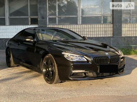Черный БМВ 640, объемом двигателя 3 л и пробегом 93 тыс. км за 36000 $, фото 1 на Automoto.ua