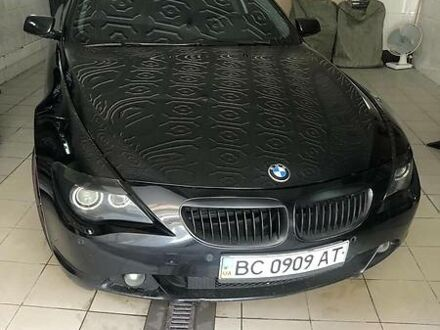 Черный БМВ 645, объемом двигателя 4.4 л и пробегом 186 тыс. км за 15800 $, фото 1 на Automoto.ua