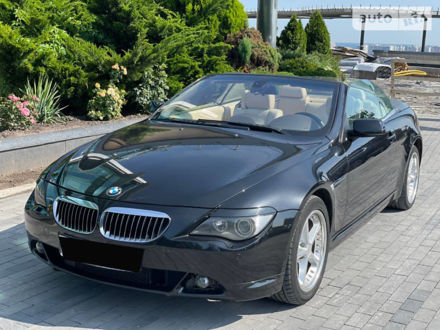 Чорний БМВ 645, об'ємом двигуна 4.4 л та пробігом 131 тис. км за 12800 $, фото 1 на Automoto.ua