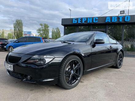 Черный БМВ 650, объемом двигателя 4.8 л и пробегом 108 тыс. км за 15999 $, фото 1 на Automoto.ua