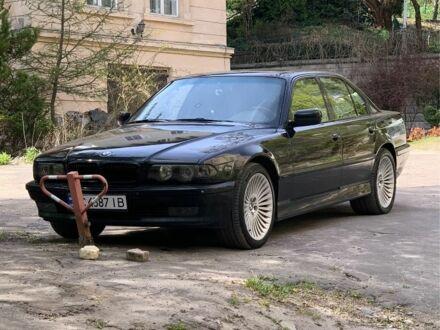 Черный БМВ 7 Серия, объемом двигателя 4.4 л и пробегом 3 тыс. км за 8000 $, фото 1 на Automoto.ua
