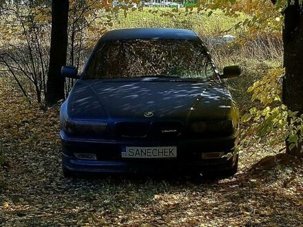 Синий БМВ 728, объемом двигателя 2.8 л и пробегом 256 тыс. км за 6000 $, фото 1 на Automoto.ua