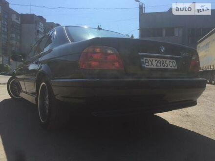 Черный БМВ 740, объемом двигателя 3.9 л и пробегом 334 тыс. км за 7500 $, фото 1 на Automoto.ua