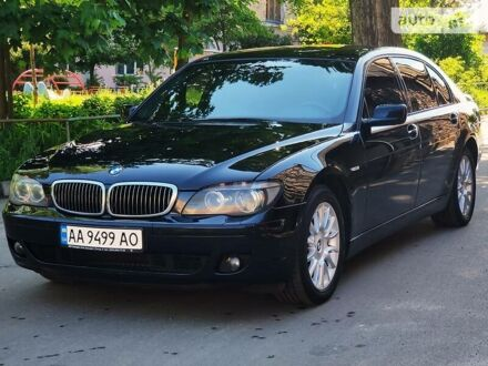 Черный БМВ 740, объемом двигателя 4 л и пробегом 220 тыс. км за 12500 $, фото 1 на Automoto.ua