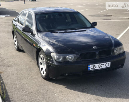 Черный БМВ 745, объемом двигателя 4.4 л и пробегом 228 тыс. км за 7499 $, фото 1 на Automoto.ua