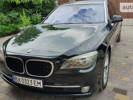 Черный БМВ 750, объемом двигателя 4.4 л и пробегом 189 тыс. км за 18500 $, фото 1 на Automoto.ua