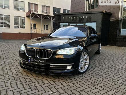 Черный БМВ 750, объемом двигателя 3 л и пробегом 202 тыс. км за 45000 $, фото 1 на Automoto.ua