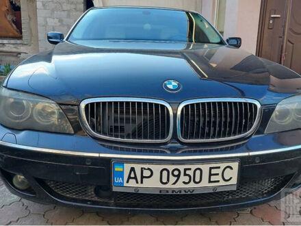 Черный БМВ 760, объемом двигателя 6 л и пробегом 304 тыс. км за 7500 $, фото 1 на Automoto.ua