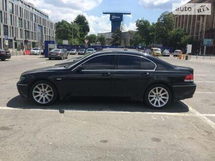 Черный БМВ 760, объемом двигателя 6 л и пробегом 270 тыс. км за 10800 $, фото 1 на Automoto.ua