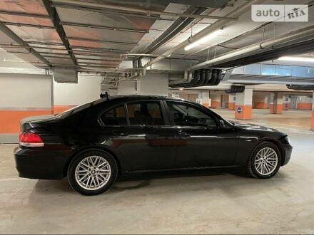 Черный БМВ 760, объемом двигателя 6 л и пробегом 200 тыс. км за 15000 $, фото 1 на Automoto.ua