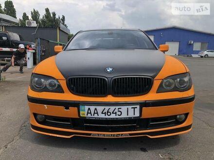 Синий БМВ 760, объемом двигателя 6 л и пробегом 150 тыс. км за 8500 $, фото 1 на Automoto.ua