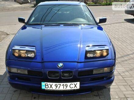Синий БМВ 850, объемом двигателя 5 л и пробегом 196 тыс. км за 29000 $, фото 1 на Automoto.ua