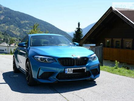Синій БМВ M2, об'ємом двигуна 3 л та пробігом 22 тис. км за 65344 $, фото 1 на Automoto.ua