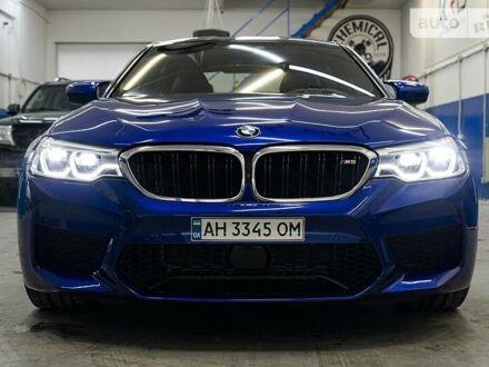 Синий БМВ М5, объемом двигателя 4.4 л и пробегом 16 тыс. км за 111000 $, фото 1 на Automoto.ua