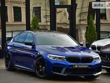 Синий БМВ М5, объемом двигателя 4.4 л и пробегом 19 тыс. км за 151479 $, фото 1 на Automoto.ua