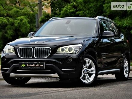 Черный БМВ Х1, объемом двигателя 2 л и пробегом 166 тыс. км за 13699 $, фото 1 на Automoto.ua