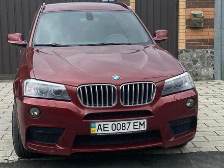 Красный БМВ X3 M, объемом двигателя 3 л и пробегом 136 тыс. км за 19000 $, фото 1 на Automoto.ua