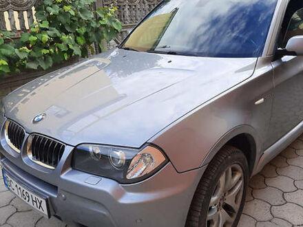 Серый БМВ X3 M, объемом двигателя 3 л и пробегом 210 тыс. км за 16000 $, фото 1 на Automoto.ua