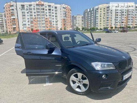 Черный БМВ Х3, объемом двигателя 3 л и пробегом 175 тыс. км за 16800 $, фото 1 на Automoto.ua