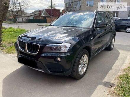Черный БМВ Х3, объемом двигателя 2 л и пробегом 190 тыс. км за 18500 $, фото 1 на Automoto.ua