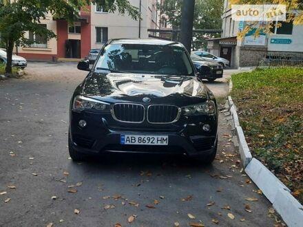 Чорний БМВ Х3, об'ємом двигуна 2 л та пробігом 163 тис. км за 26300 $, фото 1 на Automoto.ua
