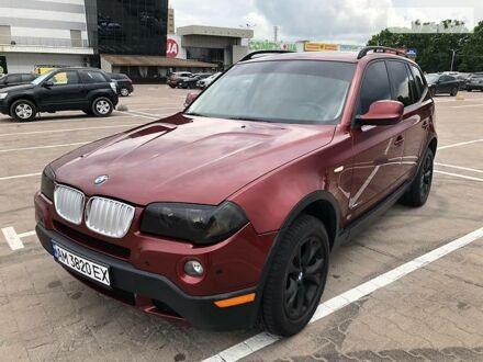 Красный БМВ Х3, объемом двигателя 3 л и пробегом 86 тыс. км за 13500 $, фото 1 на Automoto.ua