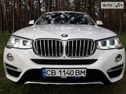 Білий БМВ Х4, об'ємом двигуна 2 л та пробігом 40 тис. км за 35000 $, фото 1 на Automoto.ua