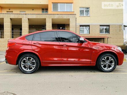 Червоний БМВ Х4, об'ємом двигуна 3 л та пробігом 39 тис. км за 35500 $, фото 1 на Automoto.ua