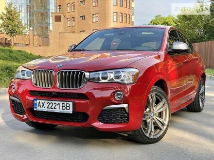 Красный БМВ Х4, объемом двигателя 3 л и пробегом 30 тыс. км за 38900 $, фото 1 на Automoto.ua