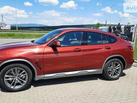 Красный БМВ Х4, объемом двигателя 2 л и пробегом 19 тыс. км за 59000 $, фото 1 на Automoto.ua