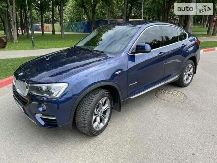 Синий БМВ Х4, объемом двигателя 2 л и пробегом 47 тыс. км за 39000 $, фото 1 на Automoto.ua