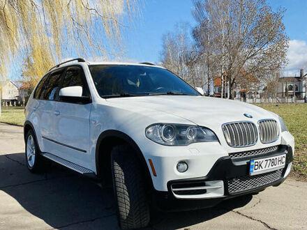 Белый БМВ Х5, объемом двигателя 3 л и пробегом 196 тыс. км за 17500 $, фото 1 на Automoto.ua
