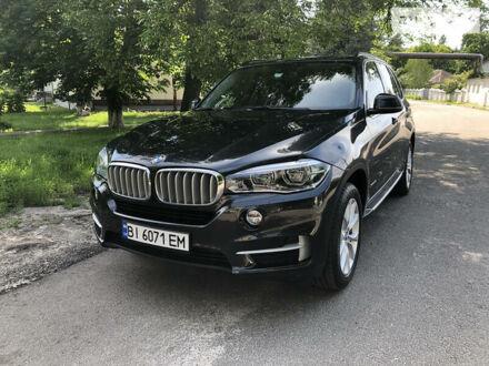 Черный БМВ Х5, объемом двигателя 3 л и пробегом 95 тыс. км за 33500 $, фото 1 на Automoto.ua