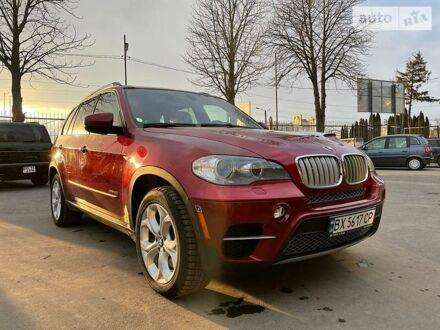 Красный БМВ Х5, объемом двигателя 4.4 л и пробегом 173 тыс. км за 26000 $, фото 1 на Automoto.ua