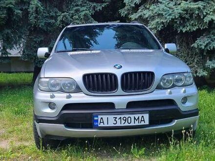 Серый БМВ Х5, объемом двигателя 4.4 л и пробегом 187 тыс. км за 9700 $, фото 1 на Automoto.ua