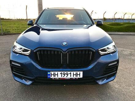 Синій БМВ Х5, об'ємом двигуна 4.4 л та пробігом 12 тис. км за 85300 $, фото 1 на Automoto.ua