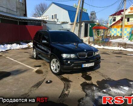 Черный БМВ Х5, объемом двигателя 3 л и пробегом 92 тыс. км за 18000 $, фото 1 на Automoto.ua