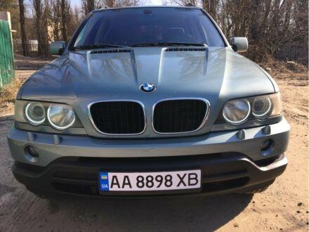 Зеленый БМВ Х5, объемом двигателя 3 л и пробегом 217 тыс. км за 10599 $, фото 1 на Automoto.ua