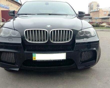 Черный БМВ Х6 М, объемом двигателя 4.4 л и пробегом 217 тыс. км за 38900 $, фото 1 на Automoto.ua