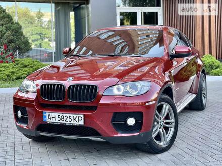 Красный БМВ Х6, объемом двигателя 3 л и пробегом 200 тыс. км за 18500 $, фото 1 на Automoto.ua