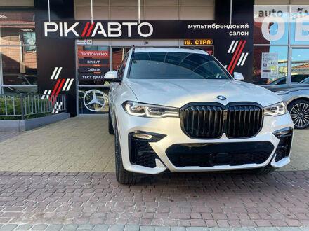 Белый БМВ X7, объемом двигателя 3 л и пробегом 3 тыс. км за 113900 $, фото 1 на Automoto.ua