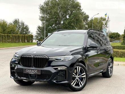 Черный БМВ X7, объемом двигателя 3 л и пробегом 55 тыс. км за 107700 $, фото 1 на Automoto.ua