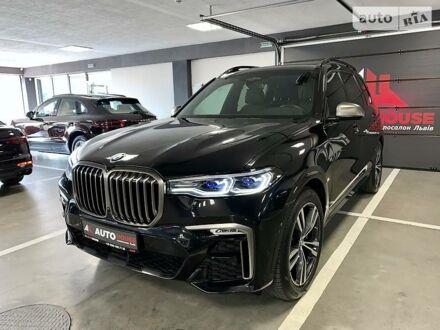 Черный БМВ X7, объемом двигателя 4.4 л и пробегом 29 тыс. км за 129700 $, фото 1 на Automoto.ua