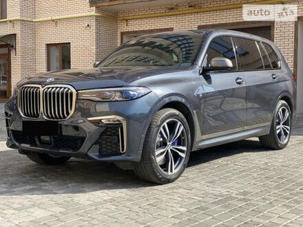 Серый БМВ X7, объемом двигателя 4.4 л и пробегом 93 тыс. км за 115000 $, фото 1 на Automoto.ua