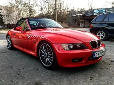 Красный БМВ Зет 3, объемом двигателя 3.2 л и пробегом 30 тыс. км за 10900 $, фото 1 на Automoto.ua