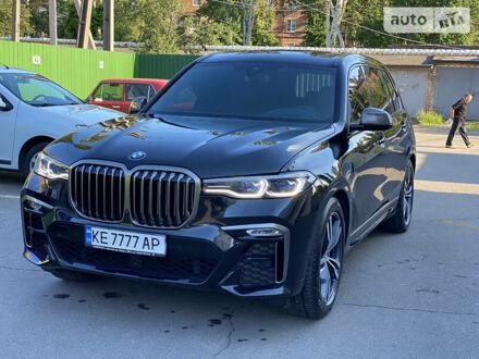 Черный БМВ X7, объемом двигателя 3 л и пробегом 40 тыс. км за 125000 $, фото 1 на Automoto.ua